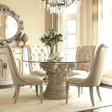 round glass dining table and chairs breakfast table chairs new on modern glass top dining round