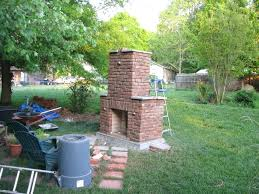 outdoor brick fireplace grill deign designs kits