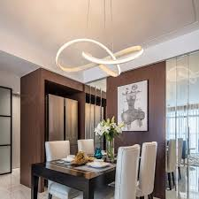 led modern chandelier for kitchen dining room living room suspension luminaire hanging white black bedroom chandeliers