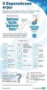 Открытый конкурс на разработку талисмана Евроигр в Минске  Подробнее об участии в конкурсе можно ознакомиться в Положении
