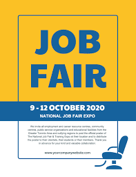 Design Job Fair Job Fair Flyer