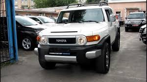 Toyota FJ Cruiser 2012 White - YouTube