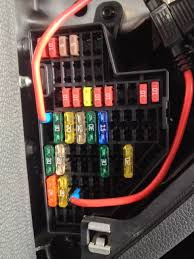 jsw tdi volt utility plug constant on tdiclub forums still haven t found a fuse layout diagram that fits my car just did trial and error knowing the 12volt plugs were on a 20a fuse