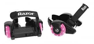 Купить <b>ролики</b> на обувь (на кроссовки, на пятку) <b>Razor Jetts Mini</b> ...