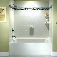 tub wall surrounds install an acrylic and surround kits excellent bathtub at useful reviews of shower bathtub surround kits