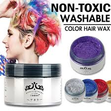 japan washable diy color hair wax 7 colors non toxic temporary pastel hair