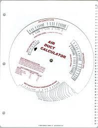 Hvac Duct Hvac Duct Size Calculator