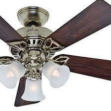 hunter brass ceiling fans. Plain Fans Hunter Fan 42 In Brass Ceiling Fans N