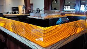 backlit onyx countertops trump national d bossa nova bar