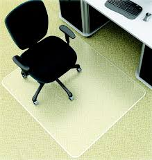 chair mat with lip. Deflect-O Supermat Medium Pile Beveled Edge Chair Mat Without Lip, 48 H X With Lip