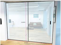 office sliding door. Studiomade (Southwark, London): Glass Sliding Door Office Partition E