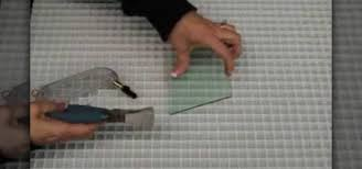 how to use a glass cutter runner