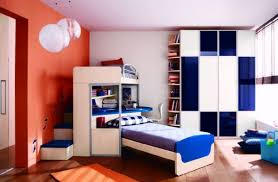... Gorgeous and modern boys bedroom with beautiful blue accents