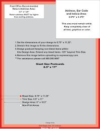 Postcard Specifications Postcard Postal Regulations