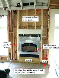 framing a gas fireplace how to install a gas fireplace inserts for fireplace for fireplace elegant