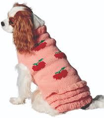 Apple Skirt Wool Dog Sweater