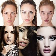 without makeup victoria secret models makeup before and after mugeek vidalondon