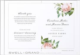 wedding reception program templates free download wedding program templates 15 free word pdf psd documents