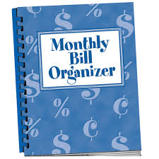Monthly Bill Organizer Book Monthly Bill Organizer Bill Organizer With Pockets Walter Drake