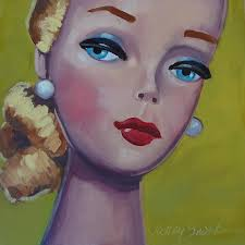 Vintage Toy Series Painting by Kelley Smith