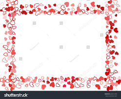 Wedding Frame Background Invitation Card Template Stock Vector