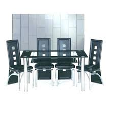 glass table with 4 chairs small glass dining tables and chairs furniture a glass table and