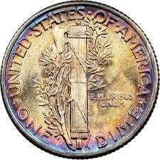 1936 10c Ms Mercury Dimes Ngc