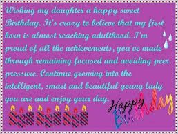 Inspirational Birthday Message For Daughter From Mother Rsgoldfun Com