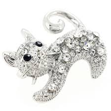Image result for silver cat pin