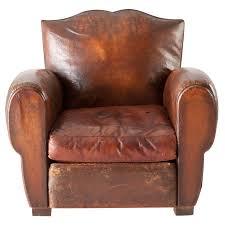 french leather original club chair