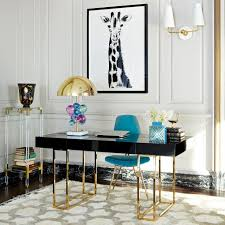 Chic office design White 10 Chic Office Design Ideas That Will Increase Your Productivity Office Interior Design Inspiration Pinterest Pin By Angie Denbar On Interior Design Trends Home Office Design