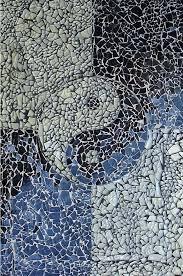 broken glass wall art yin yang sold by dorothy edwards from mosaics art gallery