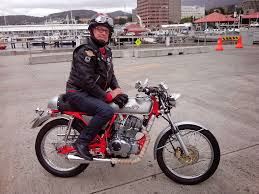 cafe racer motorcycle photo of the day