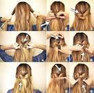 Как самой сделать прическу из волос средней длины