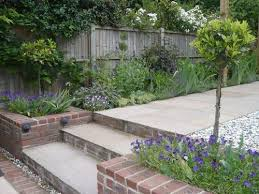 Small Picture Image result for modern brick and flint house rear sloping gardens