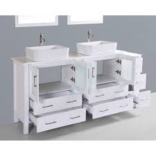 rectangular sink bathroom. contemporary 72 inch white double rectangular vessel sink bathroom vanity set with mirror