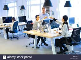 advertising agency office. Young Executives Working In Office. Advertising Agency. Agency Office