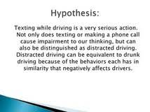 texting and driving essays argumentative essays on homicide texting and driving essays argumentative