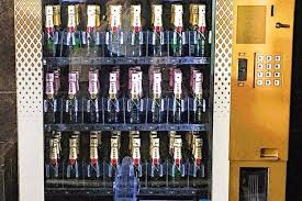 Alcohol Vending Machine Classy Web Coolness Champagne Vending Machines A New Smart Oven More