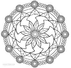 Small Picture Lovely Mandala Coloring Pages Printable 65 On Free Colouring Pages