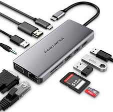 Updated Version USB C Hub, POWLAKEN 11 in 1 ... - Amazon.com