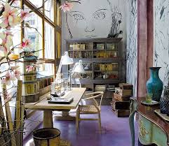 home office design quirky. Unique Character In This Home Office - How To Create A Colorful And Eclectic Design Quirky