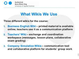 Wikis Business Wikis Business