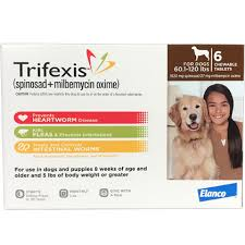 Trifexis 6pk Dog 60 1 120 Lbs
