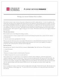Graduate Nursing Resume Toreto Co New Exles Of Sle For Nurse