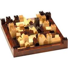 Wooden Strategy Games wood town placement strategy game wooden toys Pinterest 6