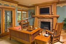 craftsman style office mission style furniture living room craftsman with traditional regarding mission style living room