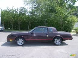 1987 Dark Maroon Metallic Chevrolet Monte Carlo SS #30367858 Photo ...