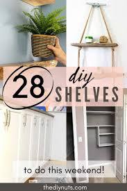 28 epic diy shelves for any home decor