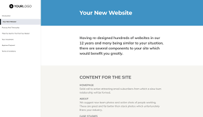 How To Get Web Design Clients This Free Simple Web Design Proposal Template Won 23m Of